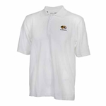 Mizzou Under Armour White Basic Polo