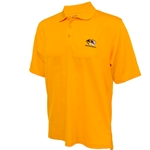 Mizzou Under Armour Gold Basic Polo