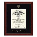 University of Missouri Official Seal Academy Edition Diploma Frame