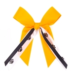 Mizzou Black & Gold Hair Bow