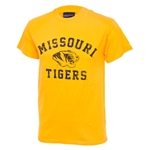 Missouri Tigers Gold Tigerhead T-Shirt
