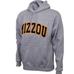 Mizzou Felt Oxford Hooded Sweatshirt