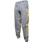 Mizzou Grey Closed Bottom Sweatpants
