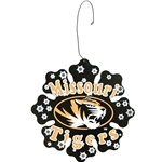 Missouri Tigers Metal Snowflake Ornament