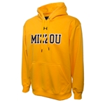 Mizzou Under Armour Gold Hoodie