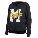 Mizzou Juniors' Graphite Hooded Sweatshirt