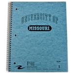University of Missouri Blue One-Subject Notebook