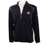 Mizzou Under Armour Black 1/4 Zip Heat Gear Sweatshirt