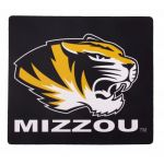 Black Mizzou Tiger Head Mouse Pad