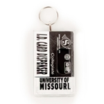 University of Missouri Clear Plastic ID Holder