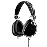 HEADPHONES AVIATOR BLACK SKULLCANDY