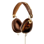 HEADPHONES AVIATOR BROWN SKULLCANDY