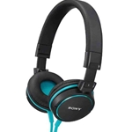 Sony Blue Over-Ear Headphones