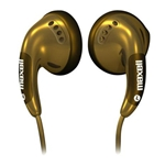 HEADPHONES GOLD MAXELL EARBUDS