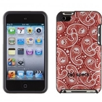 CASE IPOD TOUCH 4G FITTED MISKERCHIEF RED SPECK