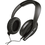 Sennheiser Black HD202 On-Ear Headphones