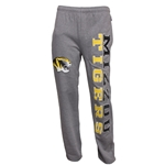 Mizzou Tigers JanSport Open Bottom Grey Sweatpants