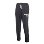 Mizzou Tigers Scuba Grey Open Bottom Sweatpants
