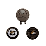 Missouri Tigers Cap Clip with Ball Markers
