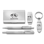 University of Missouri Silver 5-Piece Gift Set