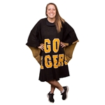 Mizzou Black and Gold Poncho Blanket