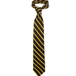 University of Missouri Black & Gold Thin Diagonal Stripe Tie