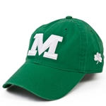 "Missouri Tigers Green and White St. Patrick's Day Block ""M"" Shamrock Hat"