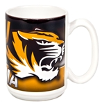 Mizzou Tigers Grandma Black & Gold Ceramic Mug