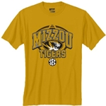 Mizzou New Gold SEC T-Shirt