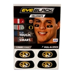 Mizzou Oval Tiger Head Eyeblack Stickers