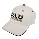 University of Missouri Adjustable White Dad Bar Hat