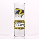 Mizzou Tiger Head Painted Tall Shot Glass