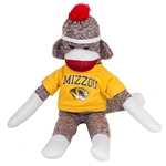 "Mizzou 8"" Gold Sock Monkey"