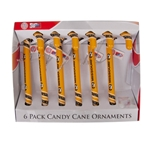 Mizzou Candy Cane Ornaments