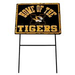 Home of the Tigers Yard Stake