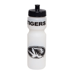 Mizzou Tiger Head Clear Plastic Bottle