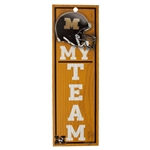 Mizzou My Team Wooden Sign
