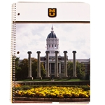 University of Missouri Full-Color Columns One-Subject Notebook