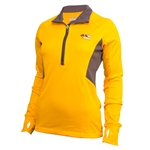 Mizzou Gold Under Armour Semi-Fitted Cold Gear 1/2 Zip Sweatshirt