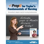 PREPU FOR TAYLORS FUNDAMENTALS OF NURSING
