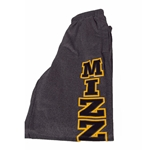 Missouri Tigers Under Armour Grey Open Bottom Sweatpants