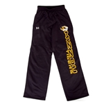 Missouri Tigers Under Armour Black Open Bottom Sweatpants