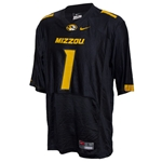 Mizzou Nike #1 Black 2012 Football Jersey