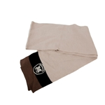 Missouri Block M Cream Knit Scarf