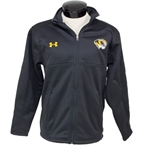 Under Armour Mizzou Men's Black Full-Zip Jacket Tiger Head Left Chest