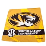 Mizzou Oval Tiger Head SEC Collector Towel