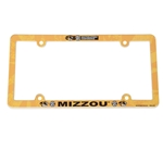 Mizzou Oval Tiger Head SEC License Plate Cover