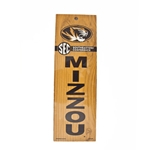 Mizzou SEC Wooden Sign