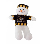 Mizzou Plush Snowman with Sweater Stocking Hat