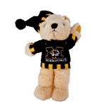 Mizzou Plush Bear with Sweater and Stocking Hat